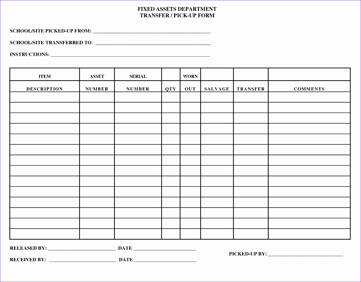 9 asset register template excel exceltemplates for Fixed asset policy template
