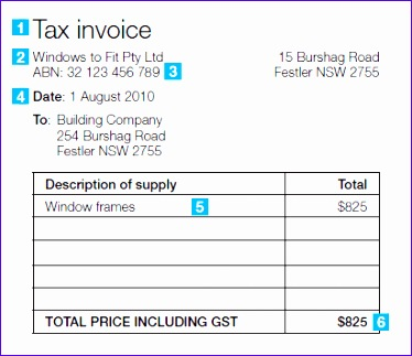 Australian Tax Invoice Template Excel Tgeha Elegant Issuing Tax