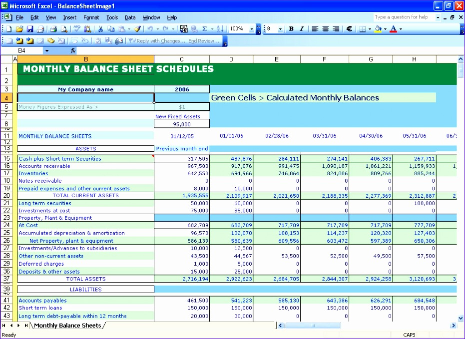 Balance Sheet Template Excel Free Download Nlvv3 Inspirational Balance Sheet Template