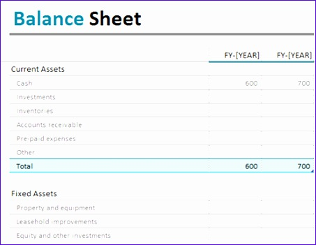 Balance Sheet Template Excel Free Download Vfrio Best Of Balance Sheet Fice Templates