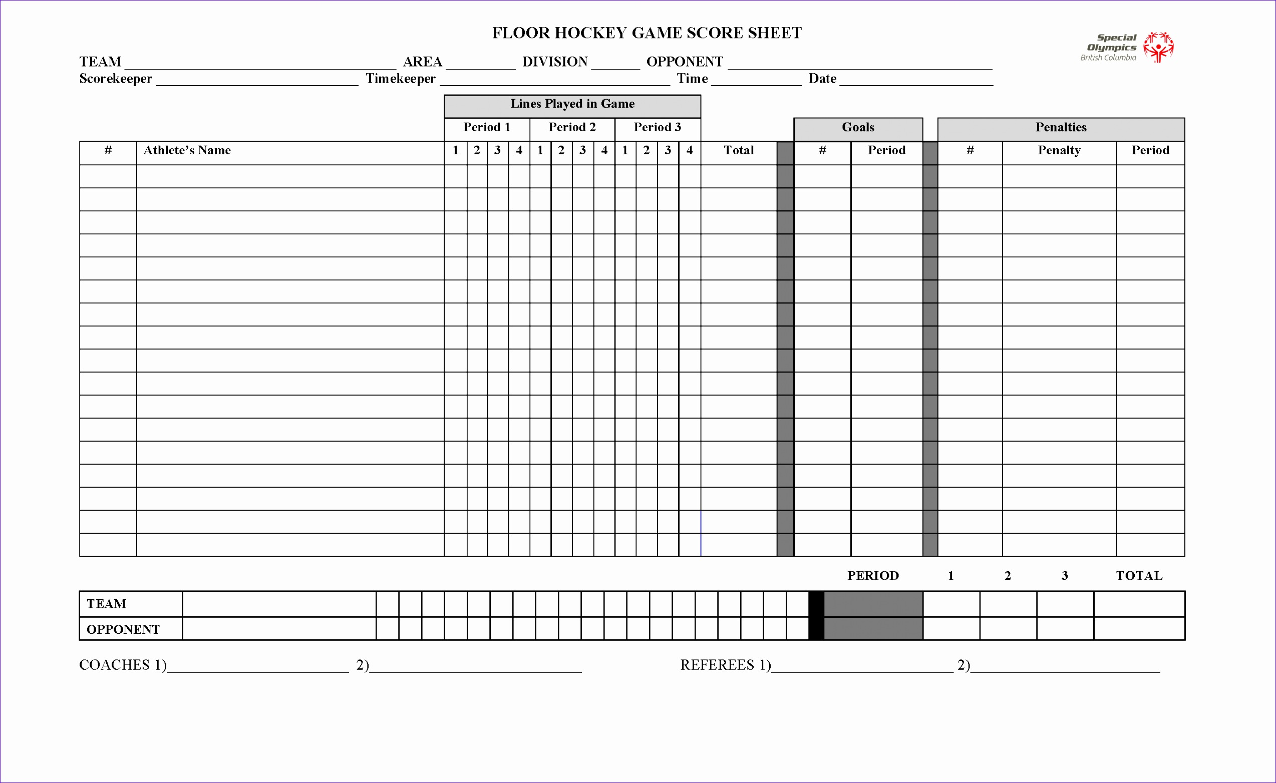 Great Sample Football Score Sheet Photos U003eu003e Football Referee Game  Basketball Score Sheet Template Excel