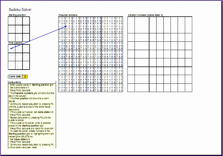 Bill Payment Schedule 6ehcn New Sudoku Puzzle solver Template Ms Excel