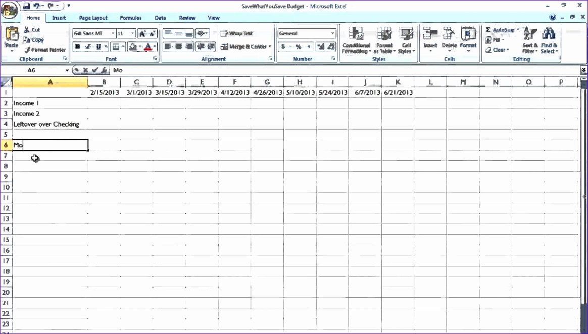 easy bud bill payment schedule for real people youtube for bill payment spreadsheet excel templates