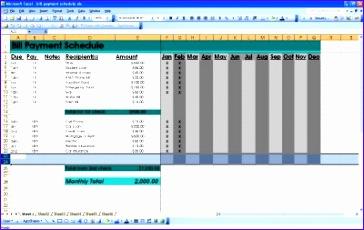 Bill Payment Spreadsheet Excel Templates Qnehc Beautiful Bill Payment Schedule
