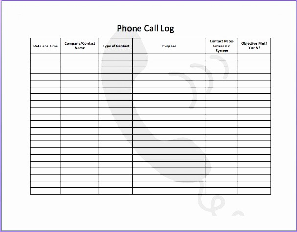 Call Report Template Excel F7sou Awesome