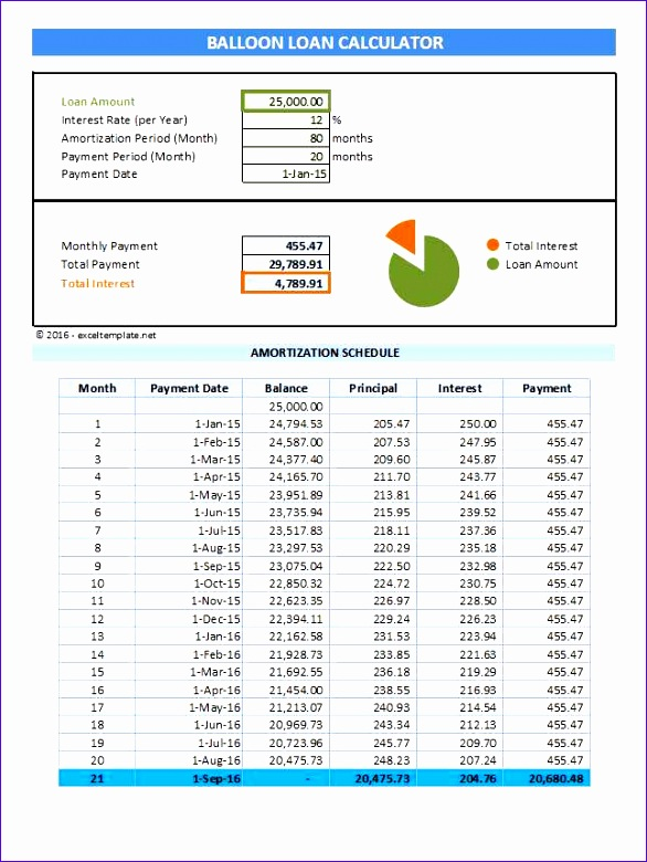 calculate loan payment schedule