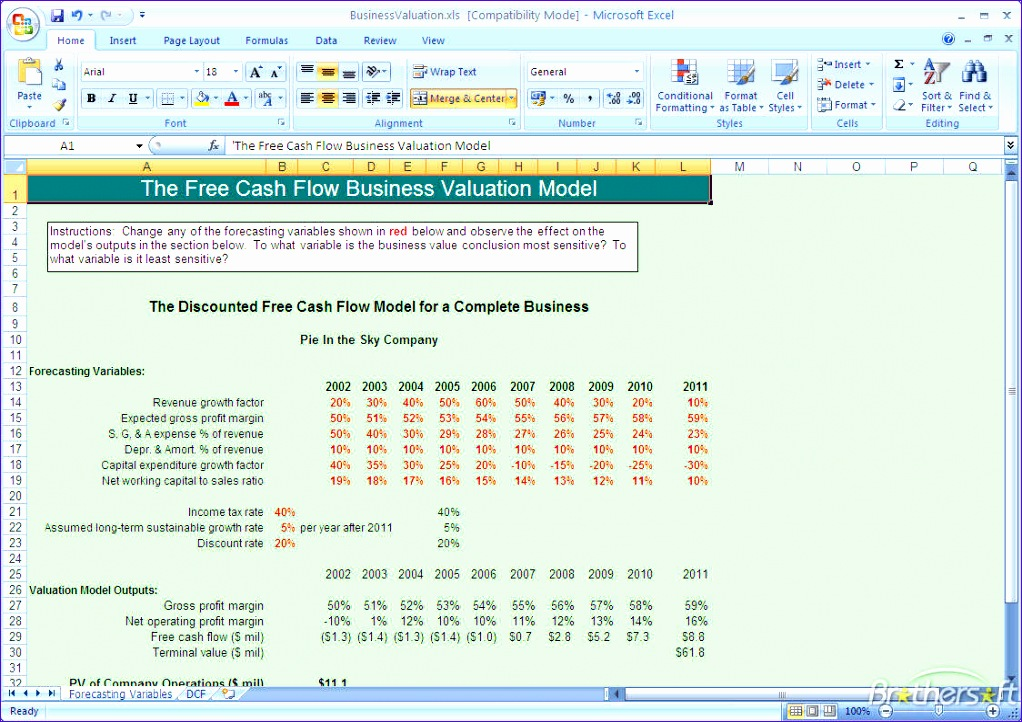 Cash Flow Analysis Excel Template  Exceltemplates  Exceltemplates