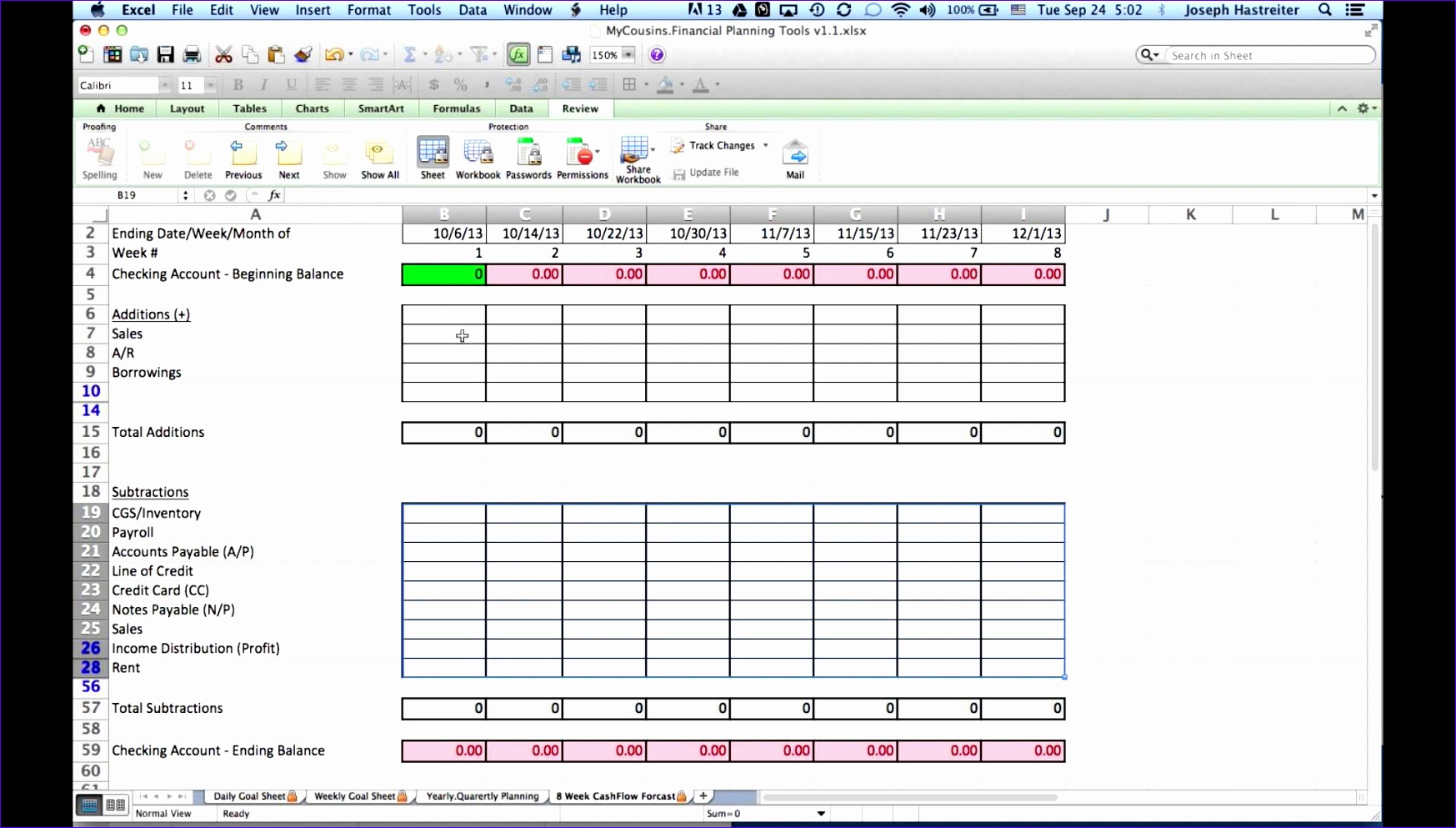 Cash Flow Projection Template Excel Kewvf Awesome How to Do A 8 Week Cash Flow forecast