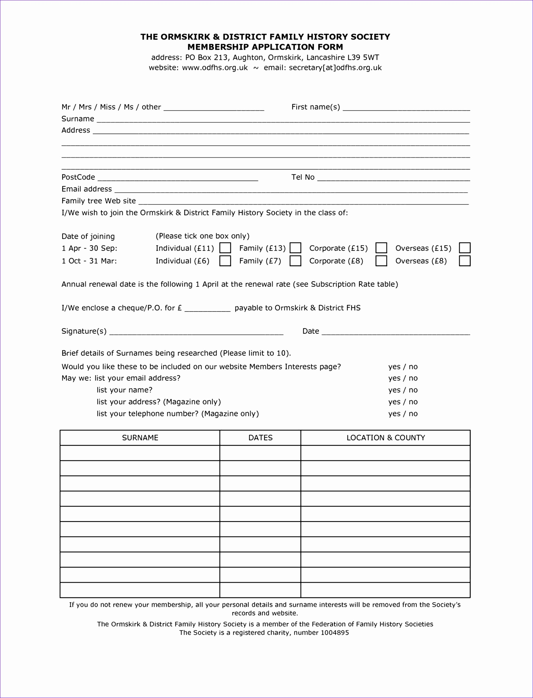 Template Word patient registration form template blank medical this family history allows the to record this Medical History Template Word family medical