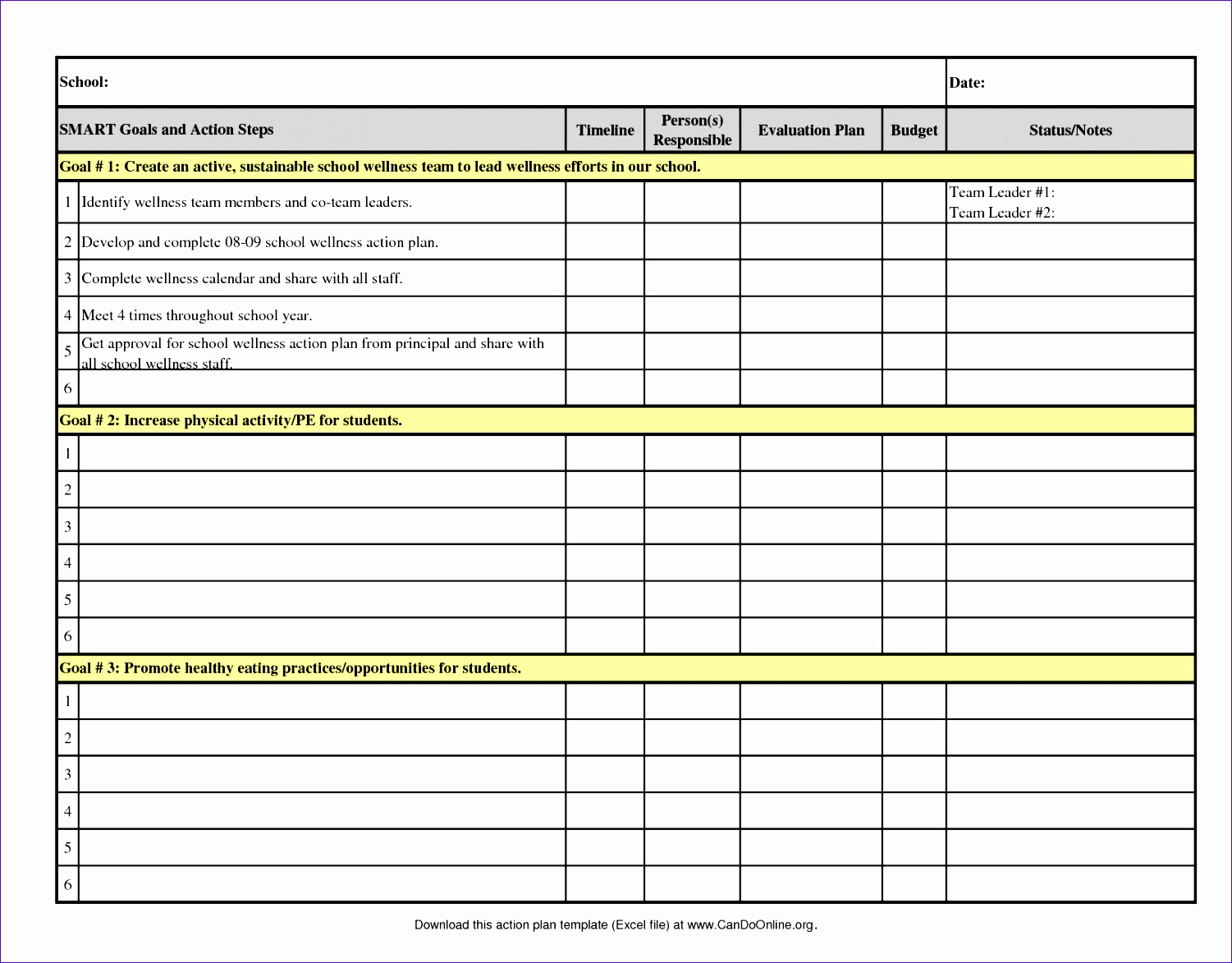action plan template ramgra42