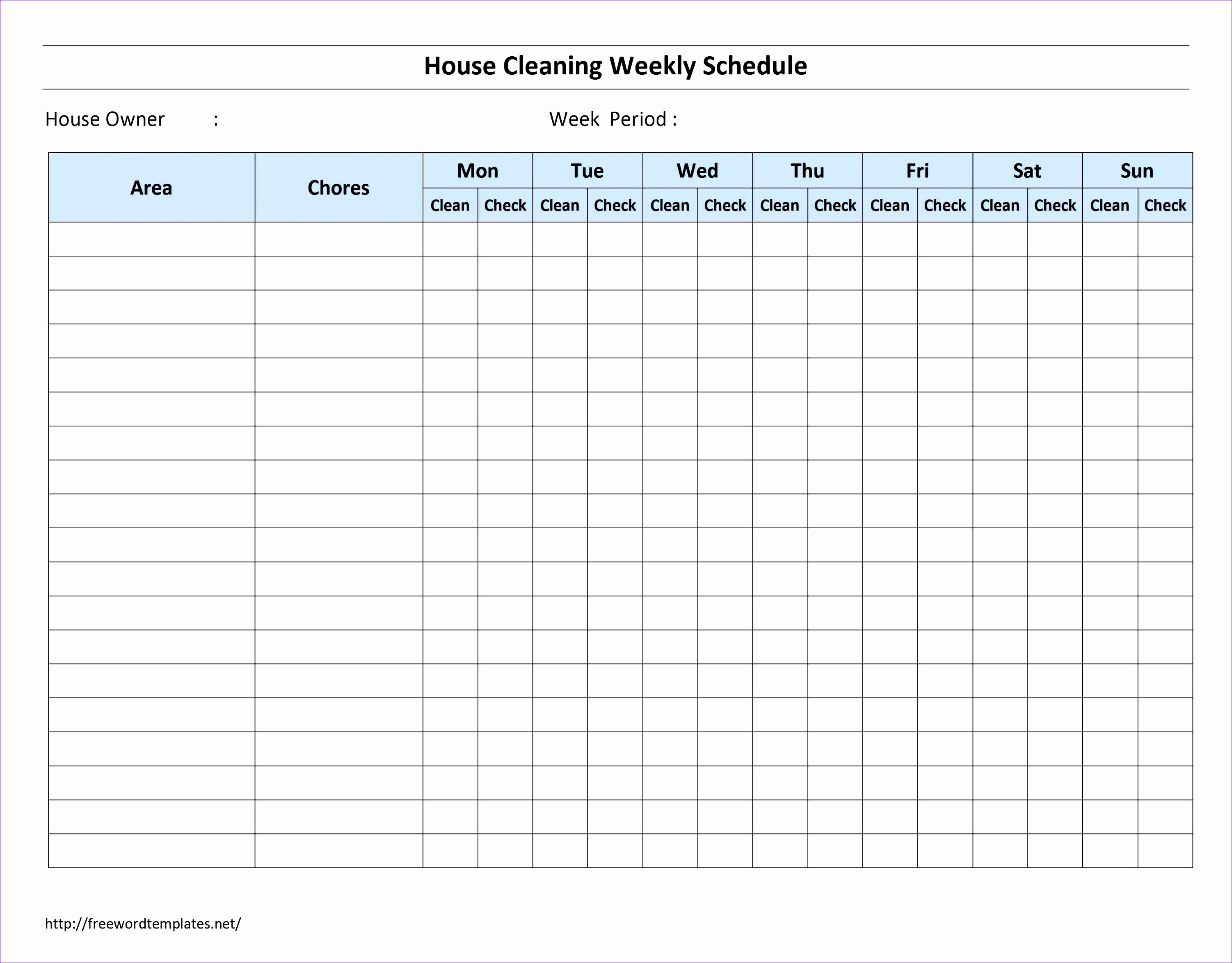 Construction Schedule Using Excel Template Ttvnk Best Of House Cleaning organizing Pinterest