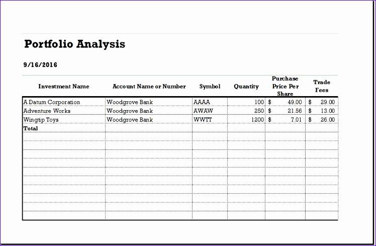 Customer Portfolio Profitability Analysis Sheets Fdgnd Luxury Customer Portfolio & Profitability Analysis Sheets