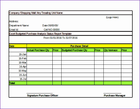 Daily Sales Report Template Excel Free  Exceltemplates