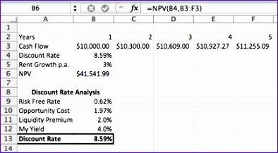Discounted Cash Flow Analysis Excel Template Tefoa Elegant Discounted Cash Flow Analysis 101