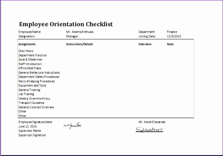 Employee Equipment Inventory Sheet Lcoxf Unique Ms Excel Employee orientation Checklist Editable Template