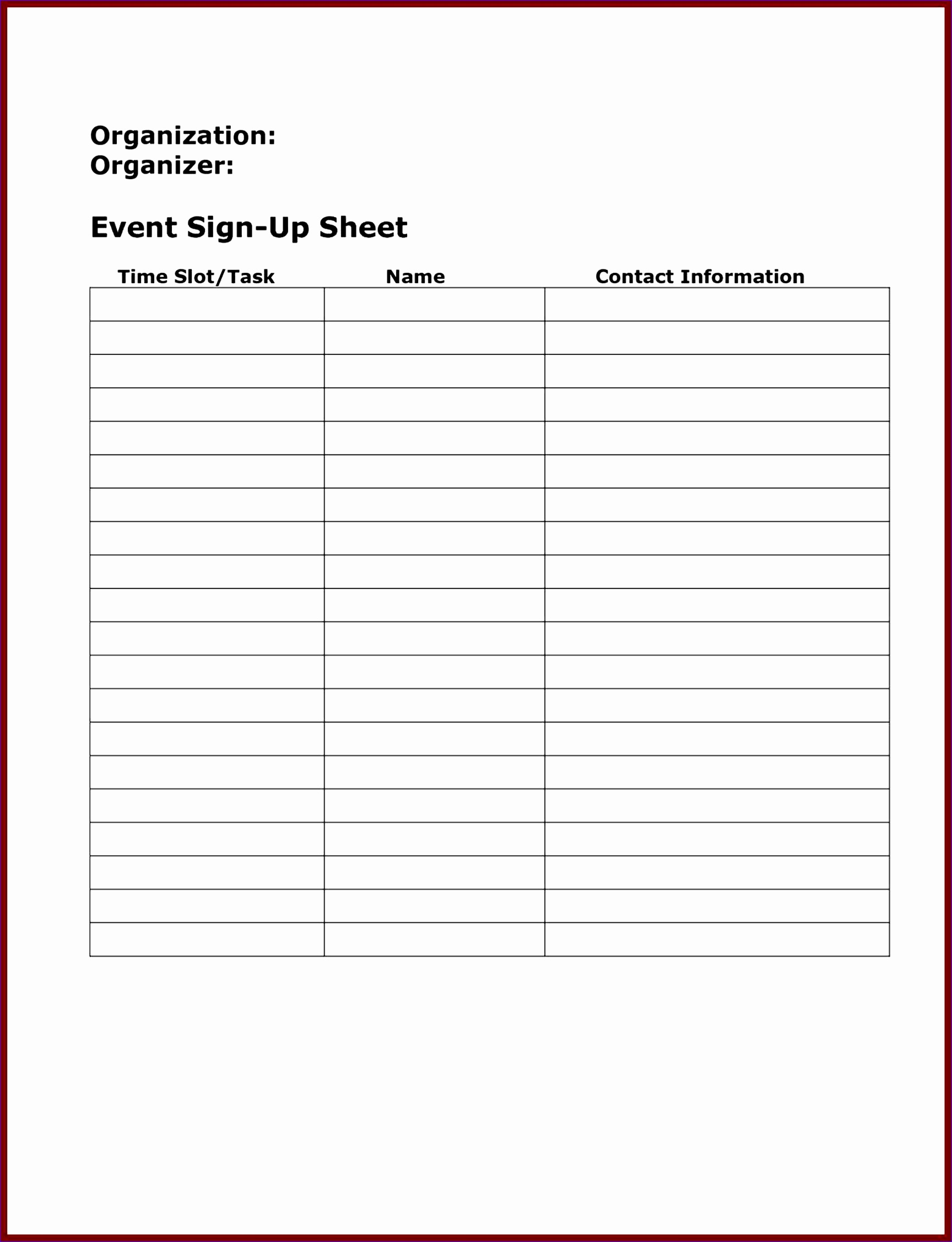 sign up u sheets potluck doc Log In Sheet Template template sign up sheet u sheets potluck daily log free printable
