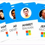 Employee's Photo Id Badges Template Tatgs Inspirational the Microsoft Blue Badge – Reimagined Ux Design