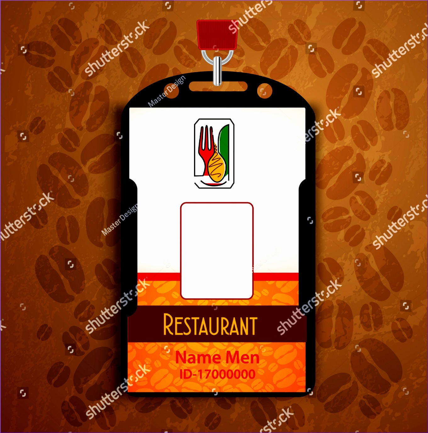 Restaurant ID Card Design