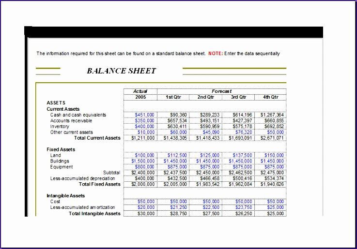 corporate analysis balance sheet 1