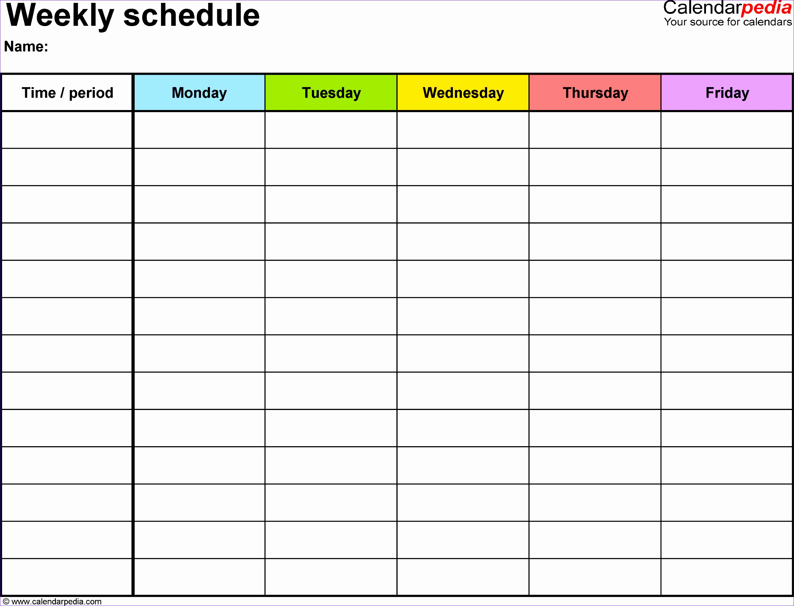 Excel 2007 Timeline Template Aqhlx Inspirational Free Weekly Schedule Templates for Excel 18 Templates