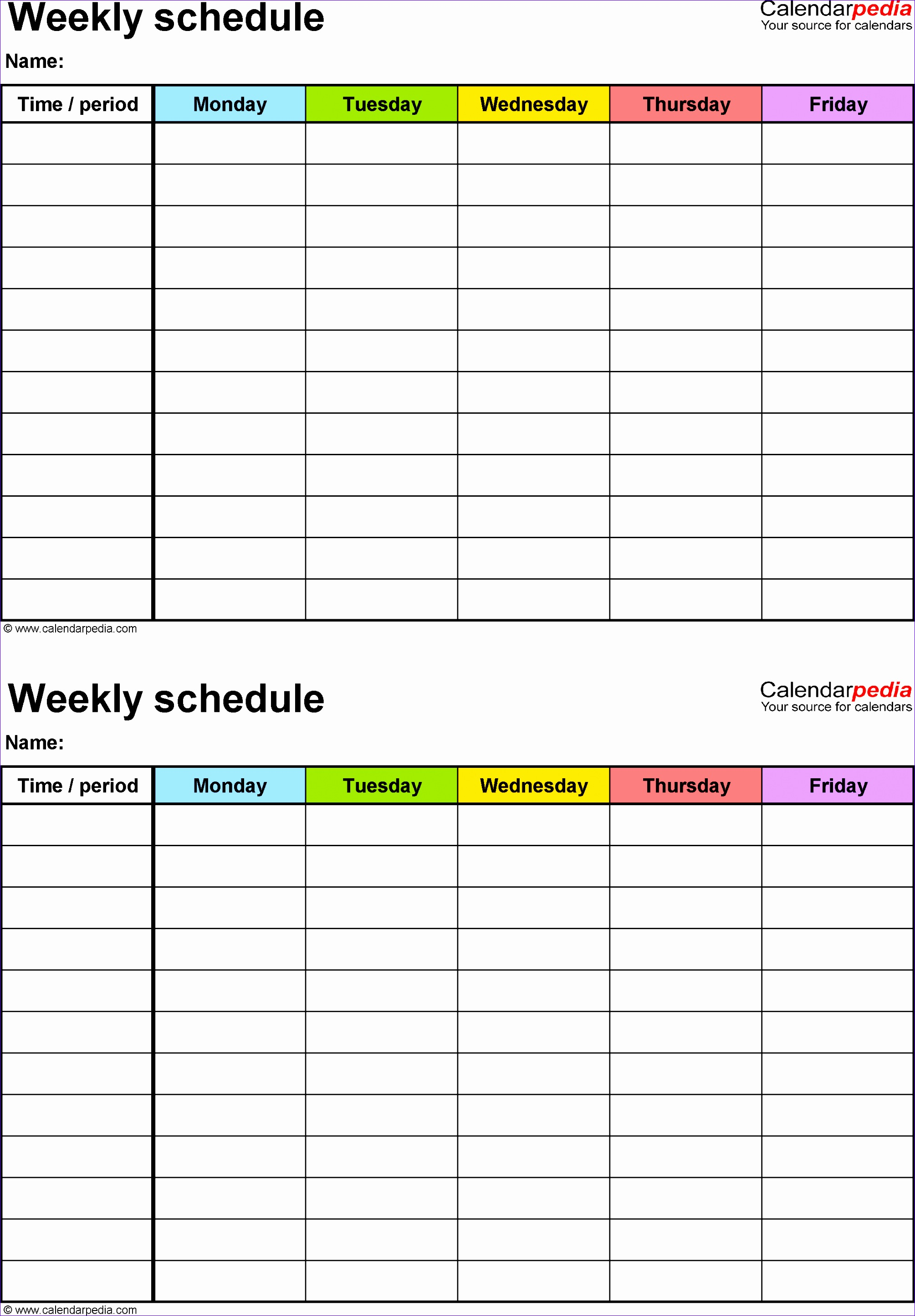Excel 2007 Timeline Template Jgbsd Lovely Free Weekly Schedule Templates for Excel 18 Templates