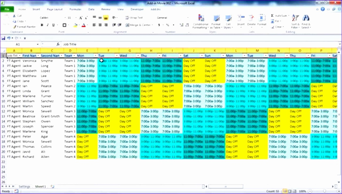 Excel 24 Hour Schedule Template U0vwa Fresh Creating Your Employee Schedule In Excel