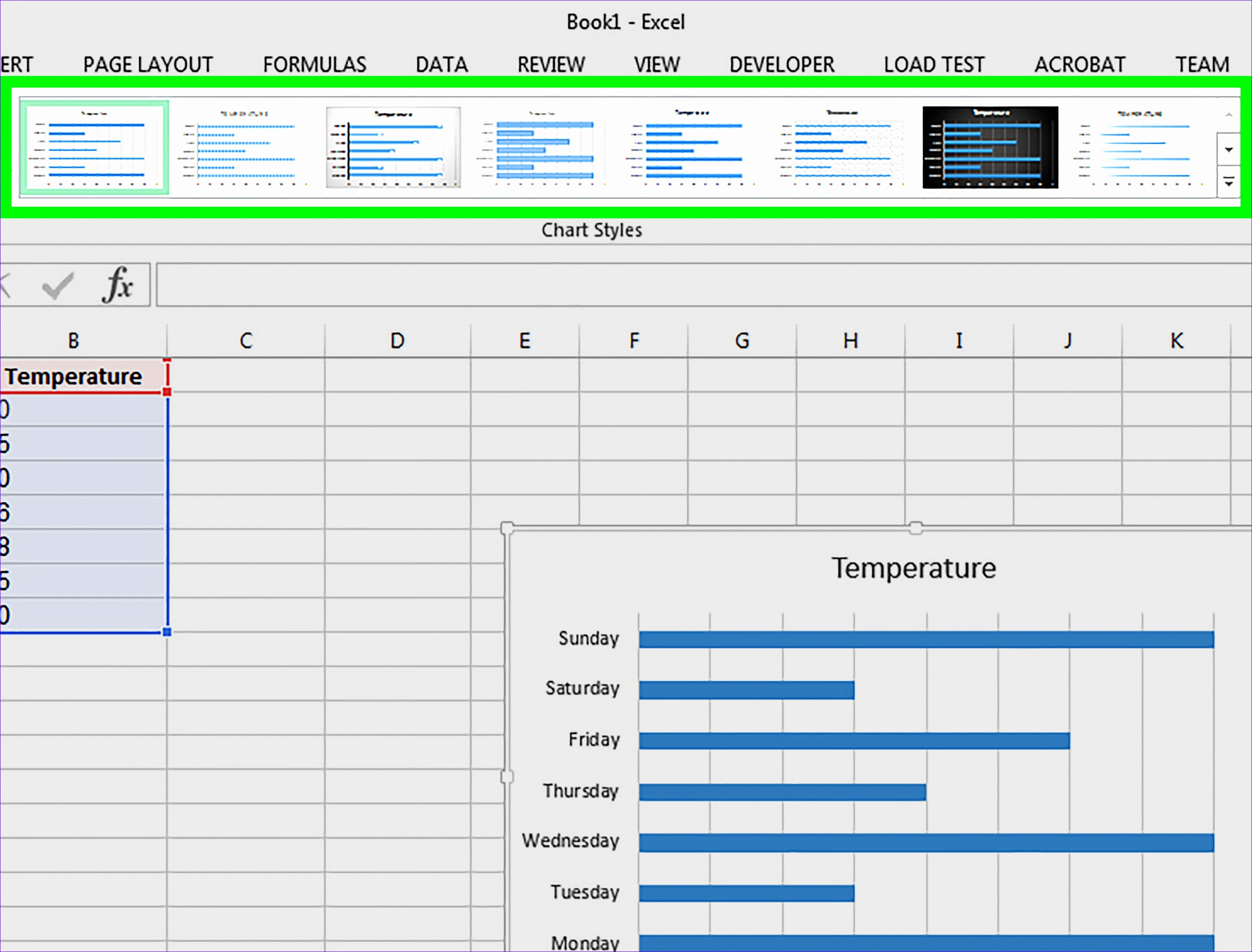 Make a Bar Graph in Excel Step 10 Version 4