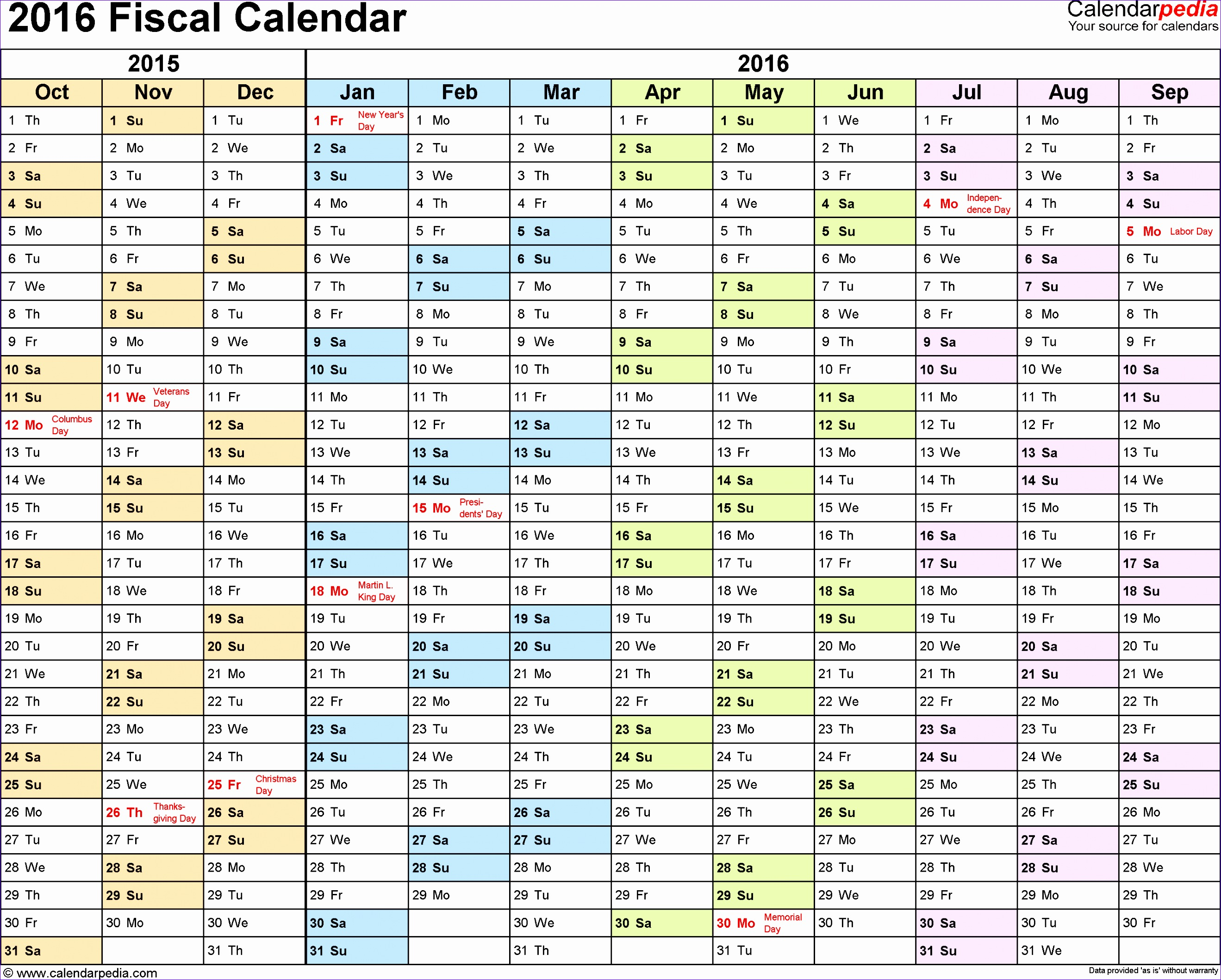 Excel Financial Statement Template E1yjr Lovely Fiscal Calendars 2016 as Free Printable Excel Templates