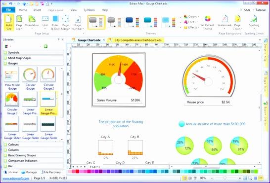 Excel Gauge Chart Template Eushf Fresh Simple Gauge Chart Maker Make