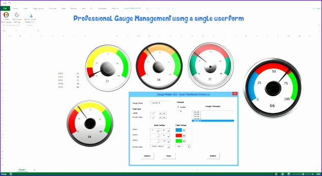 gauge maker pro sample gauges