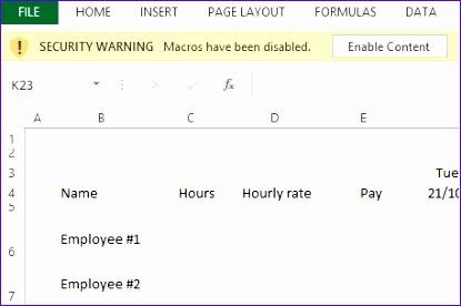 enabling macros 1