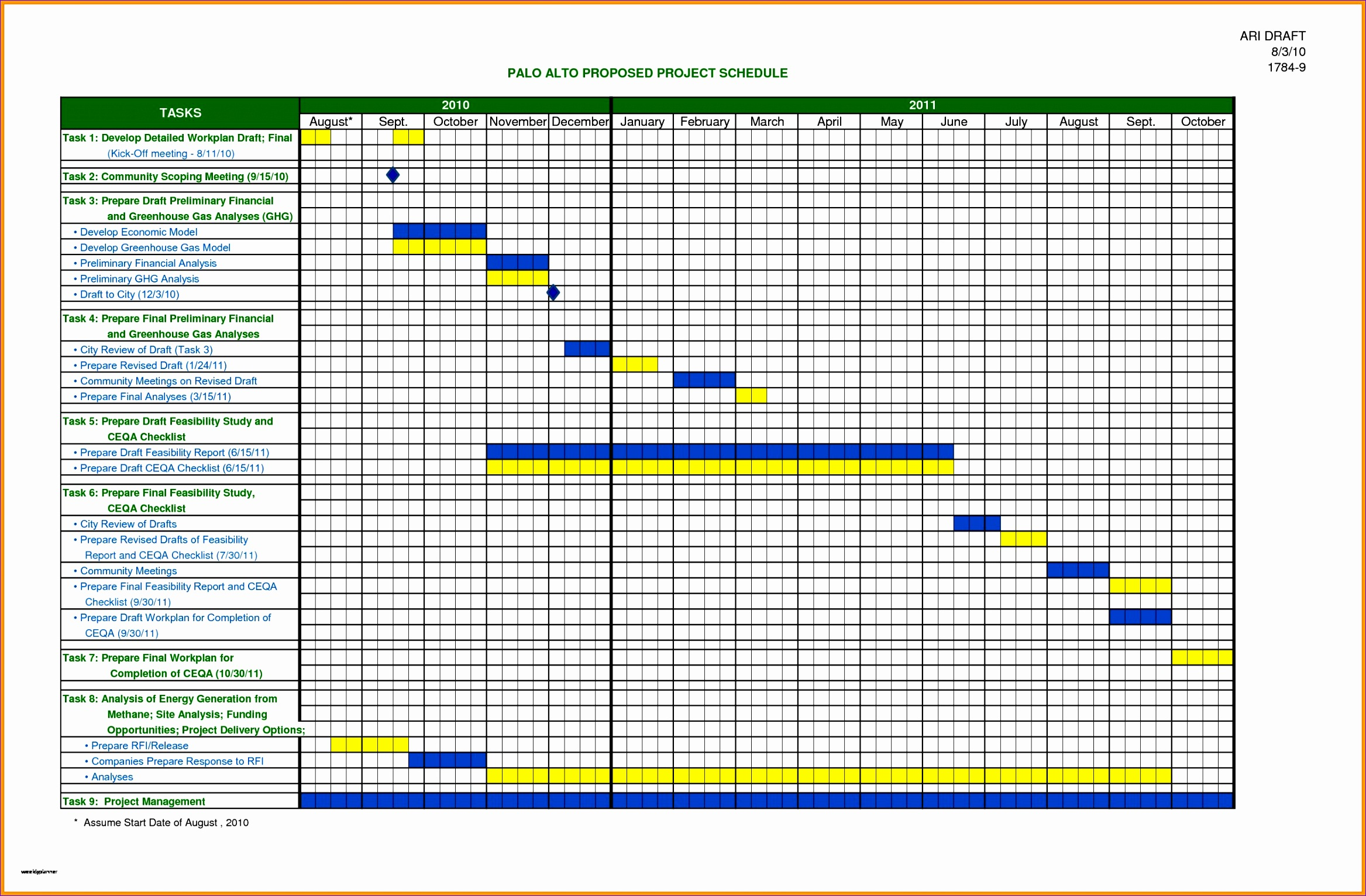 excel scheduling template new 6 project schedule template excel of excel scheduling template