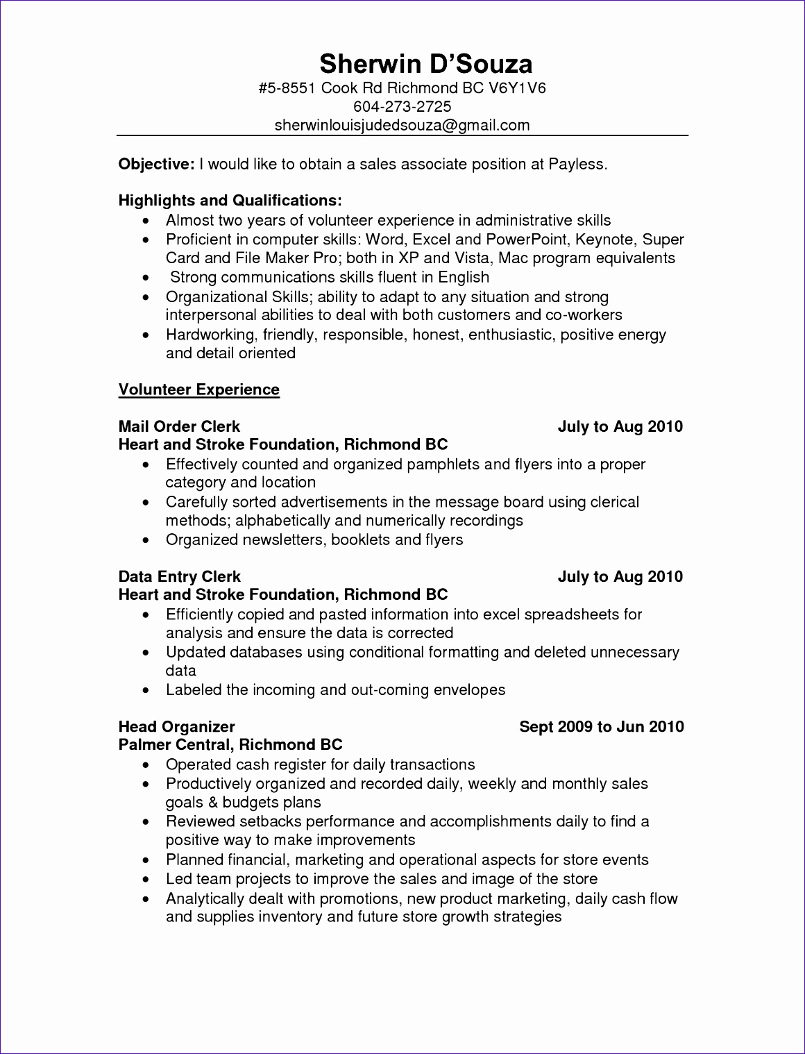 Sales Associate Resume Examples it sales resume sample Resume Resume Cover Letter Examples