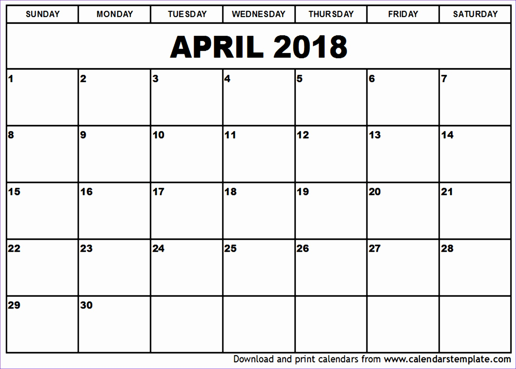 april 2018 calendar template april 2018 calendar MaIqdZ