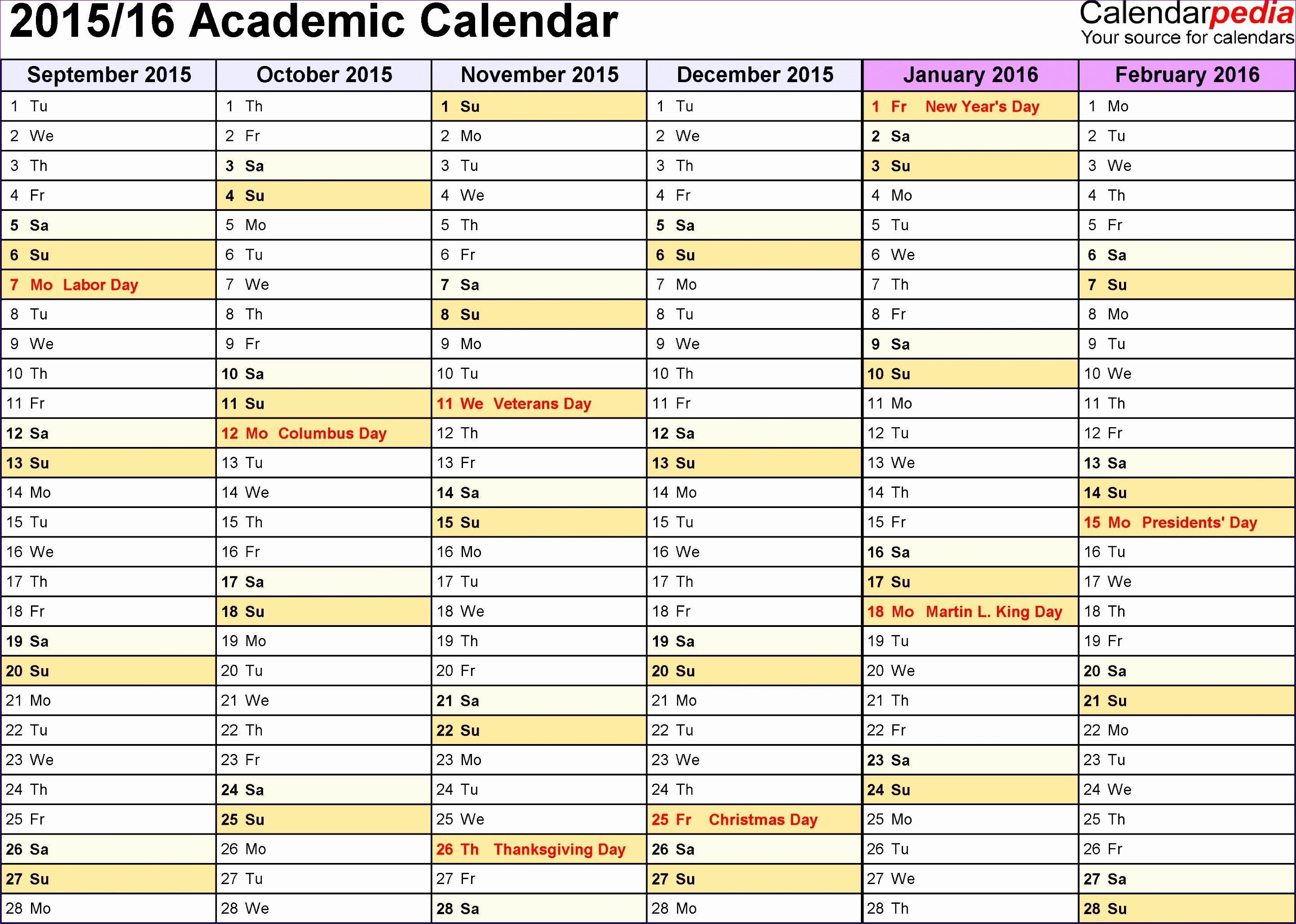 2015 2016 academic calendar 2p