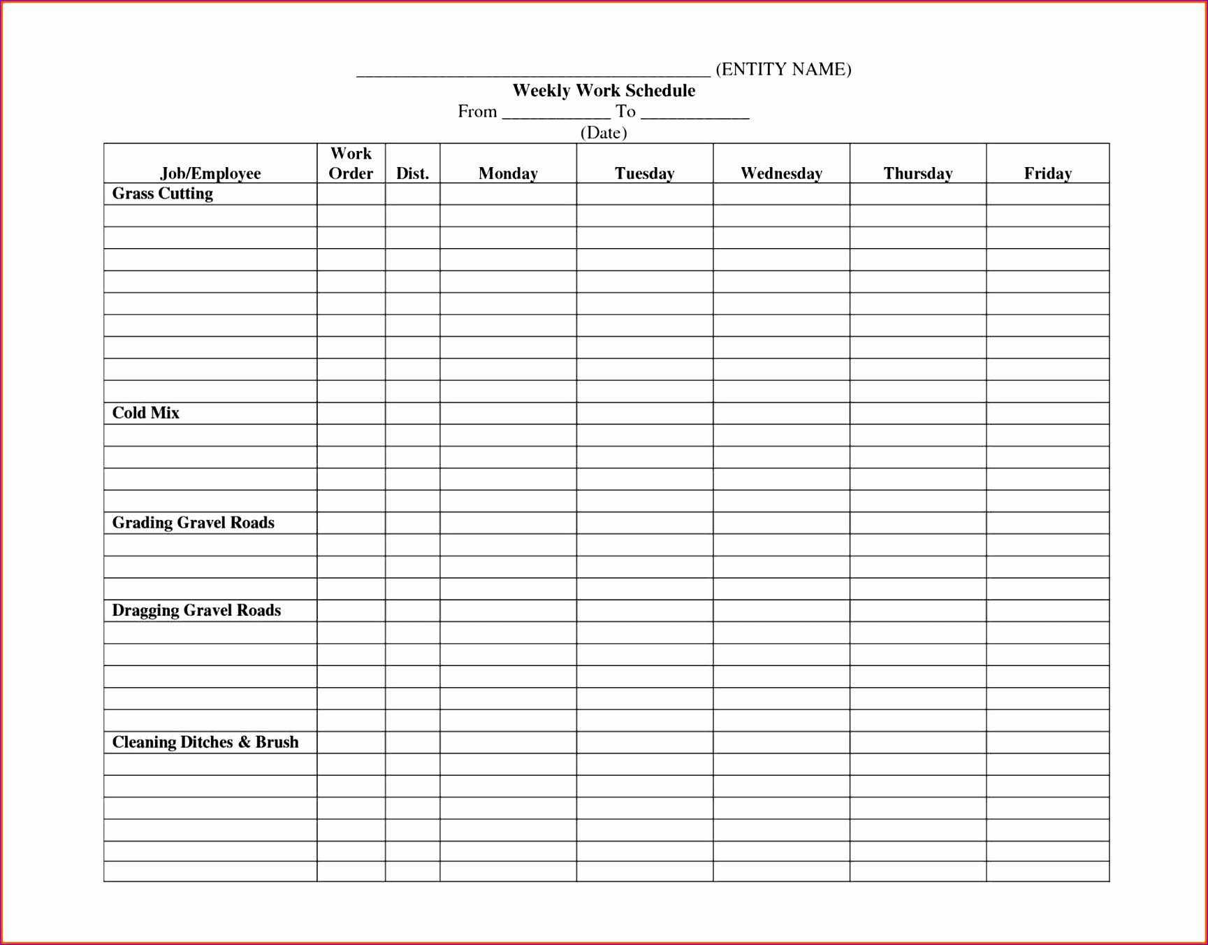 Work Schedule Template work schedule templatebiweekly schedulepng weekly template excel bud letter weekly Bi Weekly Work Schedule Template work schedule template excel