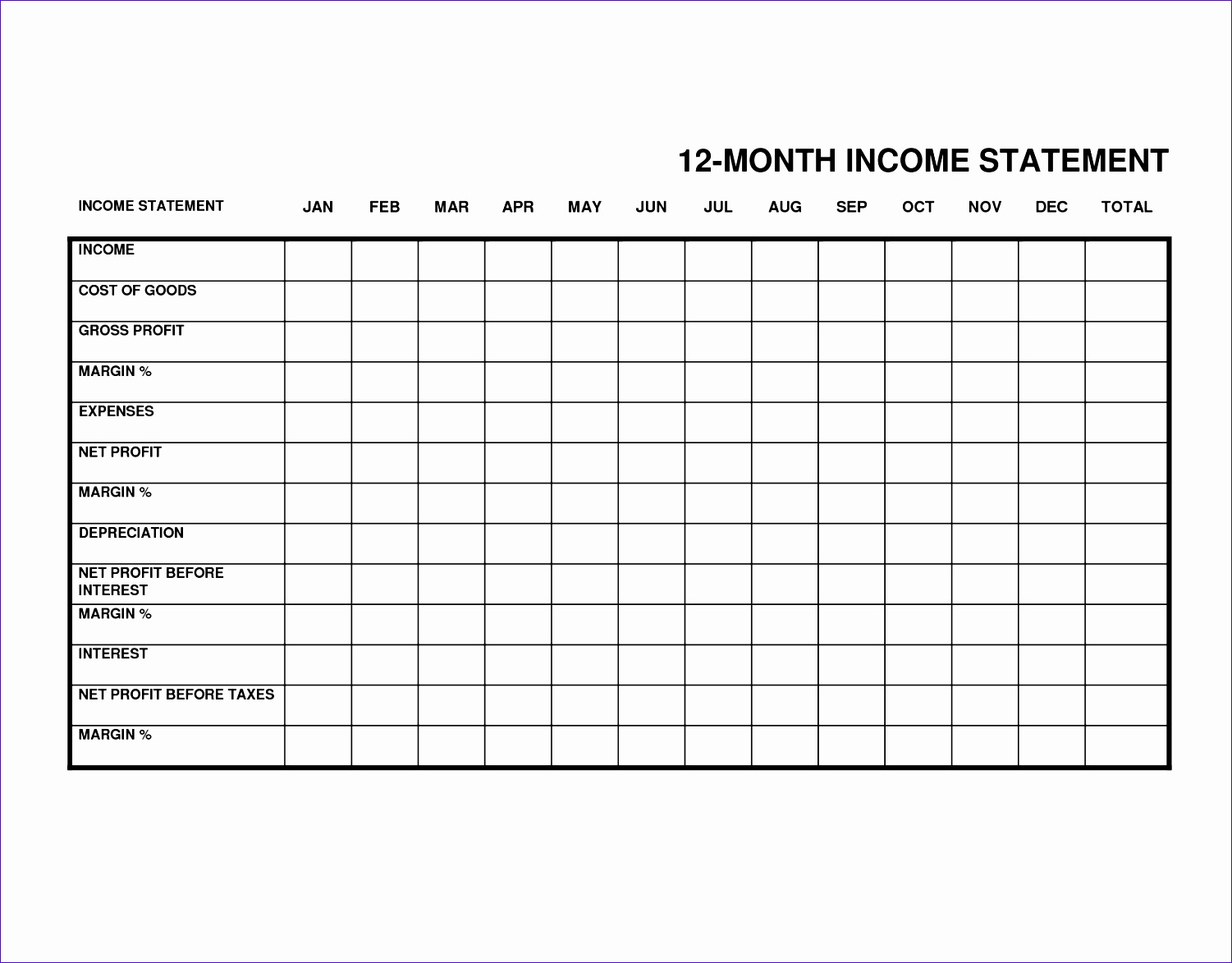 monthly in e statement small business