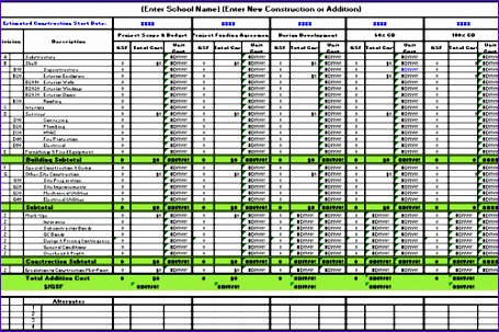 Excel Templates for Construction Estimating Ouwwl Beautiful Download Free Construction Estimate Template Excel