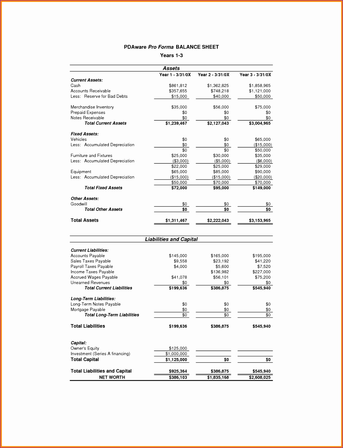 Excel Templates for Financial Statements Jcewv Elegant 11 Pro forma Financial Statements Template