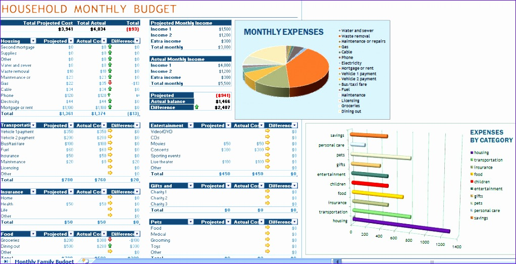Excel Templates for Home Budget Hcwed Elegant Excel Home Bud Templates Template