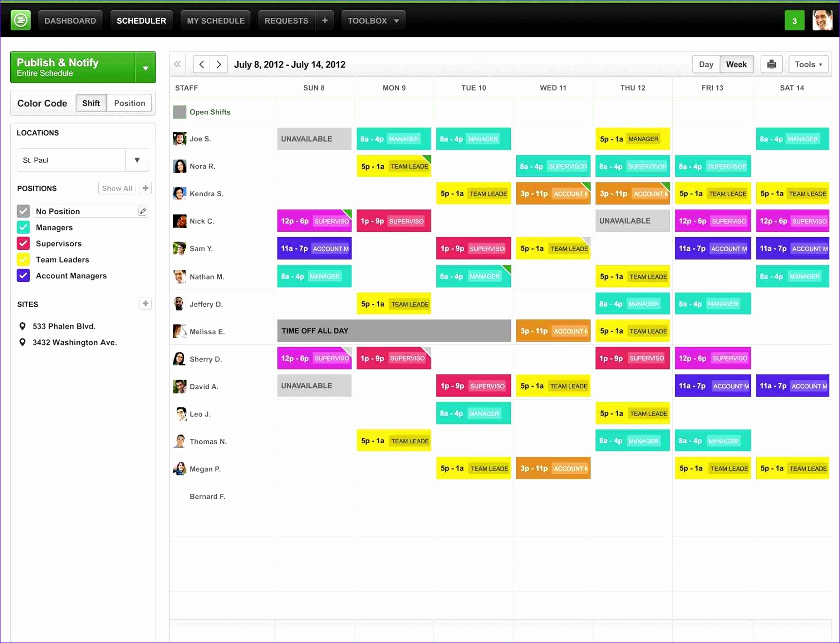 employee schedule templatepng scope of work monthly Monthly Employee Work Schedule Template Excel employee schedule templatepng scope of work free weekly templates for excel