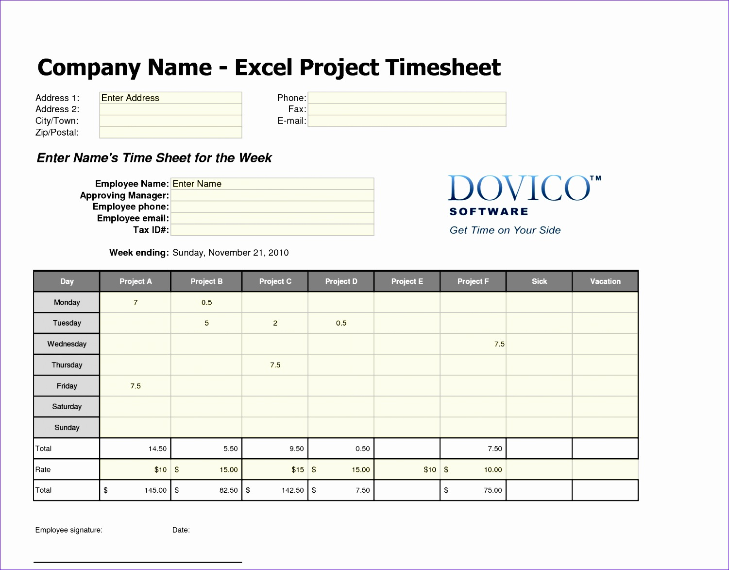 Excel Weekly Timesheet Template with formulas Ikbyz Lovely Free Weekly Timesheet Template Excel