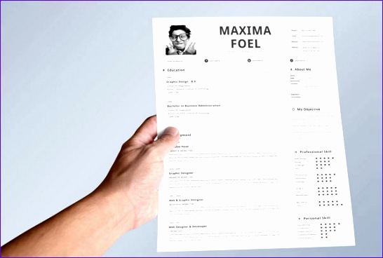 best resume template free within best resume template free