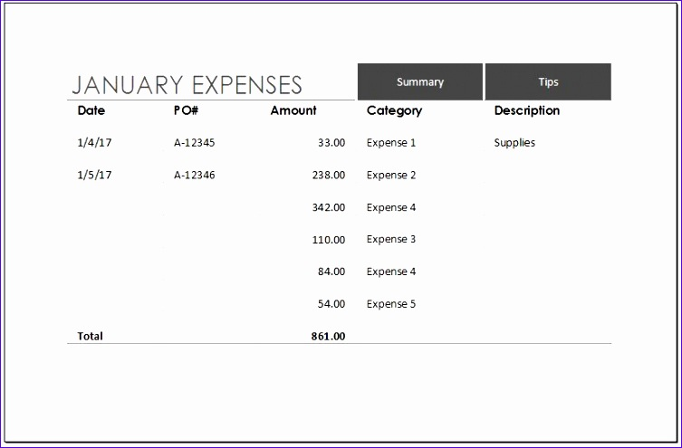 Expense Budget Template Guccv Elegant Expense Trends Bud Template for Ms Excel