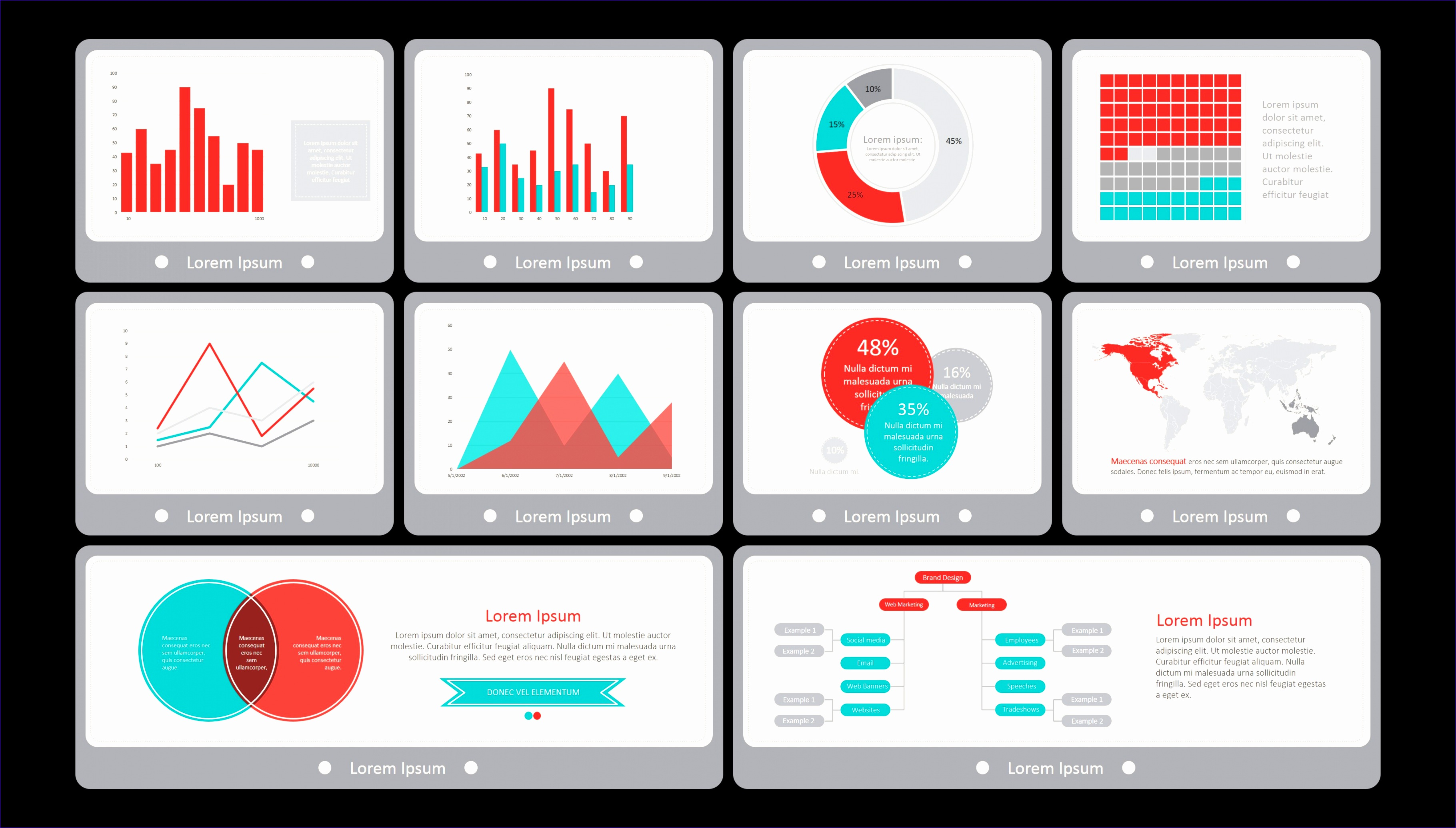 Financial Dashboard Excel Template Uuars Lovely Ppt Dashboard Template Flat Vintage