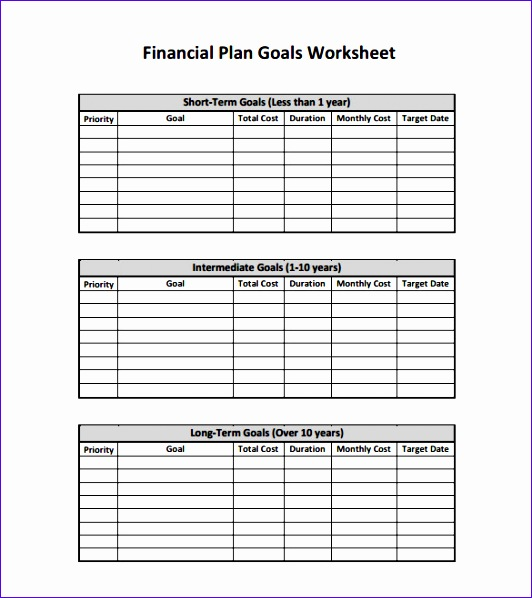 Financial Plan Template Excel Jcibf Awesome Financial Plan Templates 12 Free Word Excel Pdf Documents
