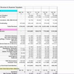 Financial Statement Template Excel Zjdbk Elegant Best S Of Revenue and Expenses Template In E and