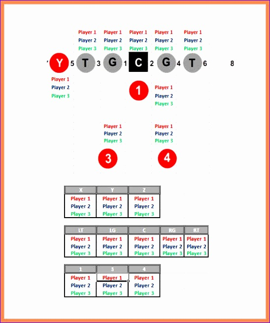 football depth chart template youth football depth chart excel free