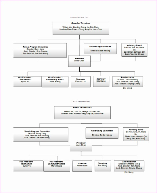 Free org Chart Template Excel Wp2ka Elegant organizational Chart 9 Free Word Pdf Documents Download