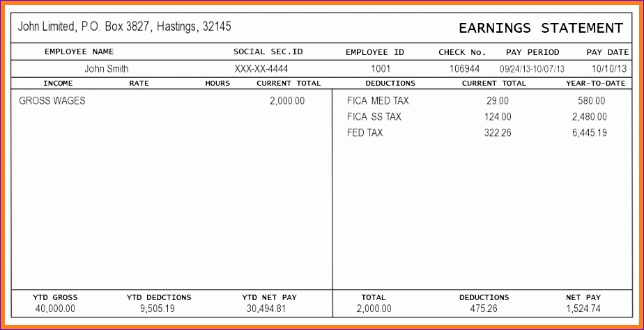 free pay stub template excel free pay stub template 7mgopf95